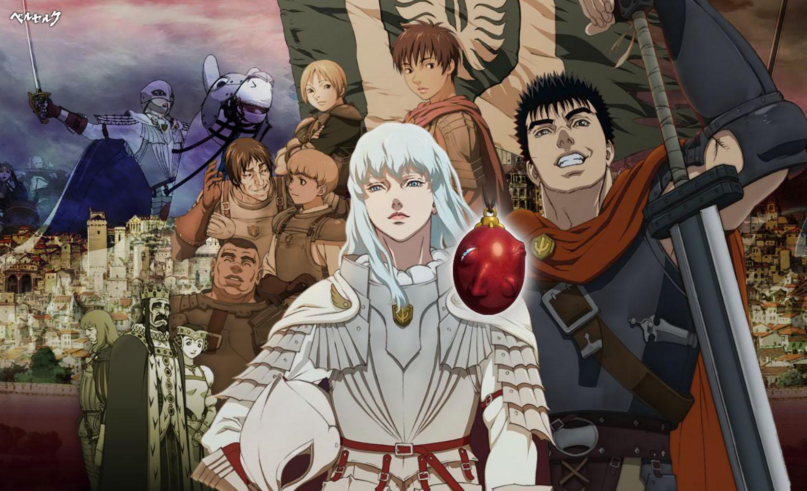 Berserk Golden Age Arc Egg King 2012