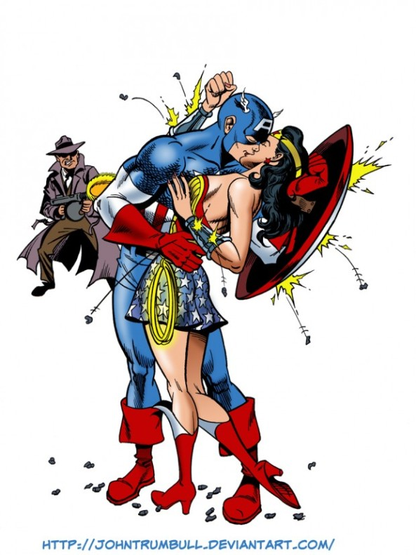 C'mon Marvel & DC, let's get the cross-overs back so we can see this romance blossom!