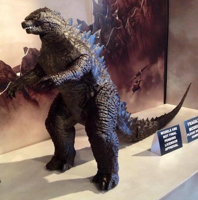 Godzilla 2014 figure