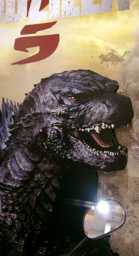 Godzilla Poster from AU expo