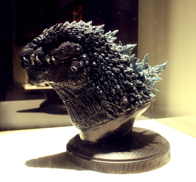 Godzilla Statue SDCC 4