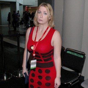 Amanda - The strangest Dalek in all of the universe.