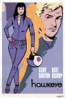 Kate Bishop from the Hawkeye Comics.