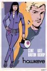 Kate Bishop from the Hawkeye Comics.
