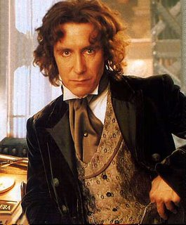 Paul McGann as the 8th Doctor in the 1996 movie.