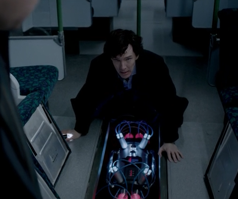 Sherlock's only way of getting John to forgive him.