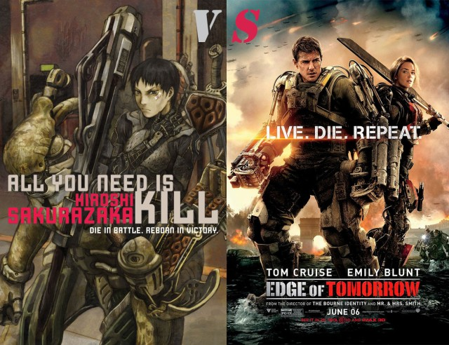 5 Differences between Edge of Tomorrow and All You Need is Kill ...