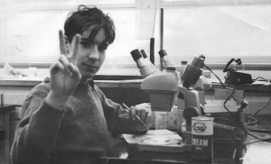 Bill Nye in 9th grade science class.