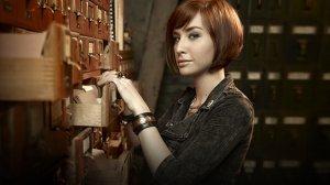 Allison Scagliotti as Claudia Donovan in Warehouse 13.
