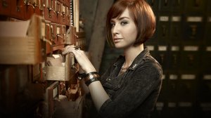 Allison Scagliotti as Claudia Donovan in Warehouse 13.